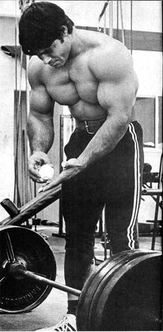 Franco.  Showing us how it's done.  Lift Heavy.