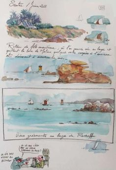 Lovely seaside watercolour.   TOUR-BRETAGNE-5-3093.JPG