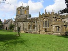 St. Mary's Church, Chard, England. William Brewer and his wifes Deanes are buried in this churchyard...Bucket List Stuff