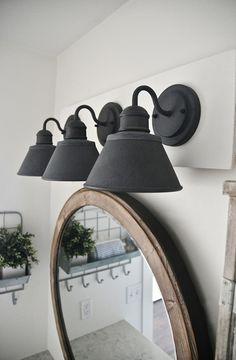 Cheap Farmhouse Bathroom Lighting Fixtures 35