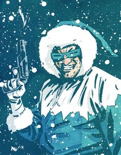 Captain Cold by Mike Walsh