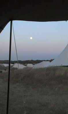 De maan.