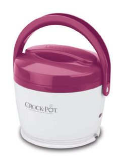 Crock-Pot 20-Ounce Lunch Crock Food Warmer, Pink Crock-Pot https://www.amazon.com/dp/B006H5V7ZY/ref=cm_sw_r_pi_dp_U_x_2KNnAbTJE0M1M