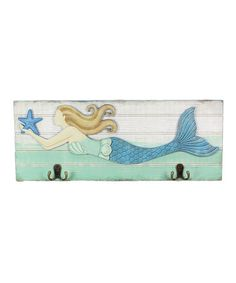 Another great find on #zulily! Mermaid Wall Hook #zulilyfinds
