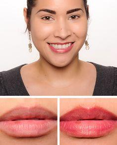 Christine from Temptalia wearing NARS New Lover Velvet Gloss Lip Pencil