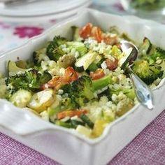 Grönsaksgratäng med fetaost Delicious Vegan Recipes, Healthy Dessert Recipes, Veggie Recipes, New Recipes, Yummy Food, Healthy Food, Favorite Recipes, Vegetarian Cooking, Vegetarian Recipes