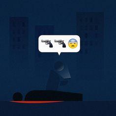 I'm dead...OTL #modernsociety #graphic #design #illust #illustration #meanimize…