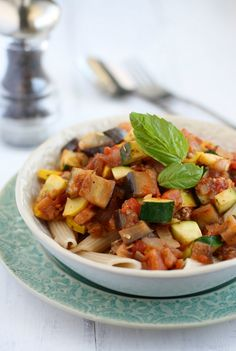 ... free pasta makes this ratatouille a great meal for the whole family