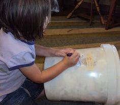 Amy's Blog - Spinning Daily - raw fleece storage
