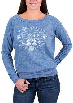 "BioShock Infinite ""Battleship Bay"" Long Sleeved Pullover (Women's) via the Irrational Games Store."