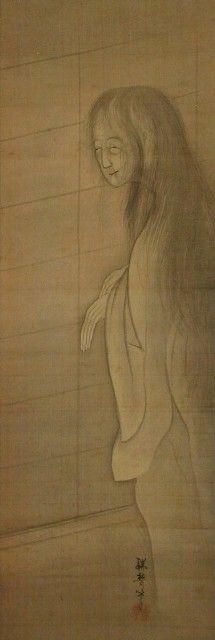 幽霊画 / Japanese Ghost by 瑞夢筆