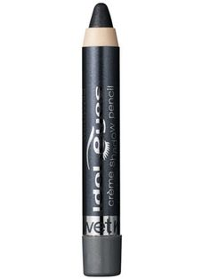 This charcoal eye shadow pencil is creamy and slightly shimmery.