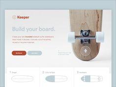 Keeper landing page