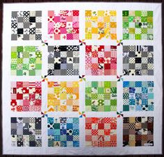 Quilter's Palette. I love this one, but it will have to wait for a time when I have more fabric. :)