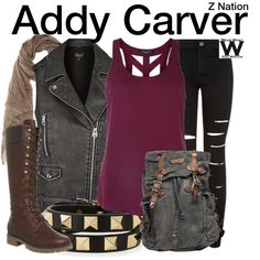 Inspired by Anastasia Baranova as Addy Carver on Z Nation.