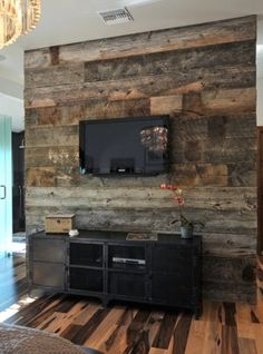 Arredamento Low Cost Design Made in Italy Style At Home, Flooring On Walls, Chic Bathrooms, Diy Wood Projects, Living Room Kitchen, Wood Wall, Sweet Home, Home And Garden, Architecture