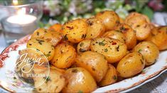 Garlic and Lemon Potatoes for Snacks or Garnish - Modern Mexican Dessert Recipes, Mexican Dishes, Greek Recipes, Diet Recipes, Vegan Recipes, Cooking Recipes, Lemon Potatoes, Salty Snacks, Side Dish Recipes