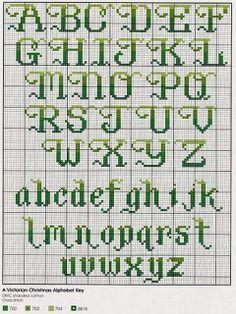 a pretty alphabet.