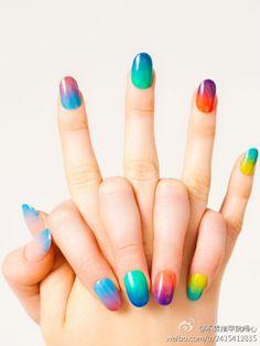 Gradient #nails #art