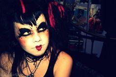 www.bodycandy.com Gothic Doll #makeup #halloween