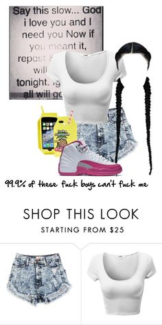 """Down in the DM remix"" by trickle4lyfe ❤ liked on Polyvore featuring Skinnydip"