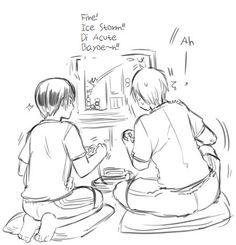 APH Japan and UK playing Super Nintendo