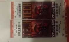#tickets 2 Virginia Tech East Carolina Hokies Football Tickets 09/24/16 Blacksburg south please retweet