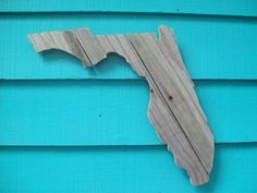 Florida made of recycled fence wood.