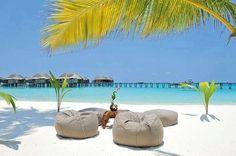 Las Maldivas.