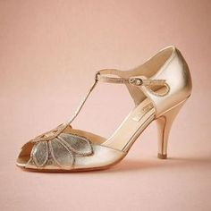 Vintage Gold Wedding Shoes Women Pumps Kitten Heel T-Straps Buckle Closure Leather Party Dance 3 High Heels Women Sandals Custom Made Size Online with $85.55/Piece on Graceful_ladies's Store | DHgate.com