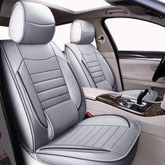 2x Sport fundas para asientos cobertor de asiento para resistente gris negro para audi bmw Ford