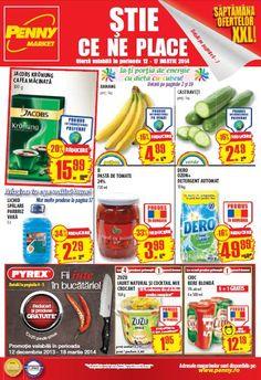 Penny Market catalog oferta valabila in perioada 12 - 17 Martie 2014! Oferte speciale prezente in catalogul Penny Market prezent: banane, -16%, 4.99 lei