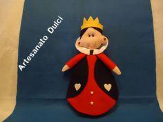 Turma da Alice no Pais das Maravilhas!!!! #artesanato#feltro#lembrancinhas#decoração