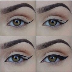 omghow How To Put on Liquid Eyeliner Eyebrow Makeup Tips