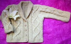 Trellis - perfect in wool or heavy cotton - (6-18 months) -  by Britta Stolfus Rueschhoff