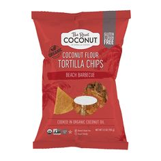 BEACH BARBECUE - TRC Coconut Flour Tortilla Chips