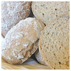 Buckwheat rolls (gluten free, wheat free), with buckwheat and brown rice Sugar Free Baking, Gluten Free Baking, Vegan Gluten Free, Gluten Free Recipes, Baking Recipes, Cookie Recipes, Lchf, Wheat Free Bread, Buckwheat Recipes