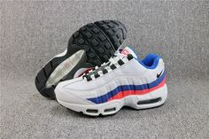 Top Womens Nike Air Max 95 Essential White Black Solar Red 749766-106 JL 60afaea30cea