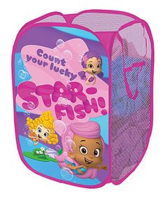 Bubble Guppies 'Count Your Lucky Starfish' Pop-Up Hamper by Bubble Guppies #zulily #zulilyfinds