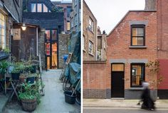 Winkley Workshop - a small house conversion in East London. Find out more here: http://humble-homes.com/winkley-workshop-a-small-house-in-london-by-kirkwood-mccarthy/