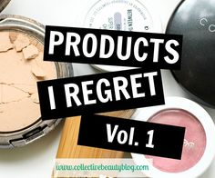 Products I regret buying!