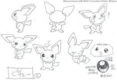 Pokemon Production Art! ポケットモンスターアニメ 設定稿・製作用資料・絵コンテ First Pokemon, Cute Pokemon, Concept Art Books, Pokemon Sketch, Pokemon Champions, Character Model Sheet, Electric, Character Design References, Illustrations And Posters