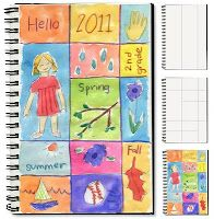 Art journaling for kids - great ideas on this site