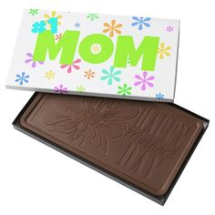 Number One Mom block of chocolate