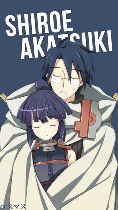 Shiroe x Akatsuki ~ Korigengi | Wallpaper Anime