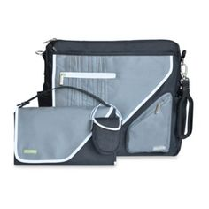 JJ Cole® Metra Bag in Black Stitch - buybuyBaby.com