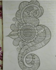Pencil Henna pattern 06 done by beena Patel Peacock Mehndi Designs, Mehndi Designs Book, Latest Arabic Mehndi Designs, Mehndi Designs For Girls, Indian Mehndi Designs, Stylish Mehndi Designs, Mehndi Designs For Fingers, Wedding Mehndi Designs, Mehndi Design Pictures