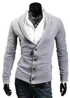 Men's Style: The Martin Cardigan Ash