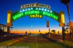 Harbor Cafe, Beautiful Day, Beautiful Places, Distant Friends, Santa Monica Blvd, Sport Fishing, The Neighbourhood, Neon Signs, Boat