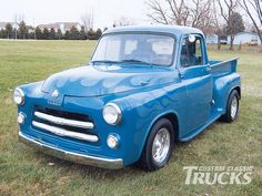 Check out this 1954 Dodge Pickup submitted by one of our readers here at www.customclassictrucks.com the official website of Custom Classic Trucks Magazine